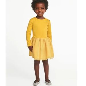 Other - toddler yellow tutu dress
